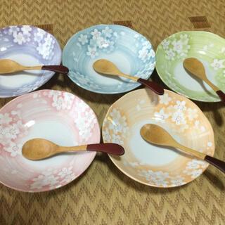 【新品】カレー皿セット ブルーム