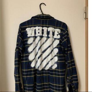 オフホワイト(OFF-WHITE)のOFF-WHITE スプレー シャツ(シャツ)