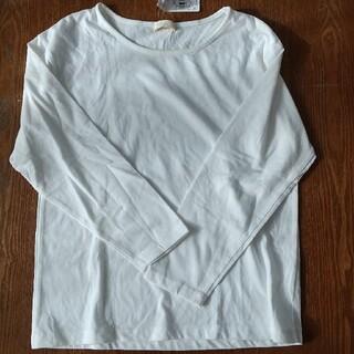 アースミュージックアンドエコロジー(earth music & ecology)のearth  白  Tシャツ(Tシャツ(長袖/七分))