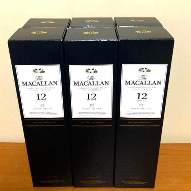 サントリー(サントリー)の マッカラン12年シェリーオーク 6本 食品/飲料/酒の酒(ウイスキー)の商品写真