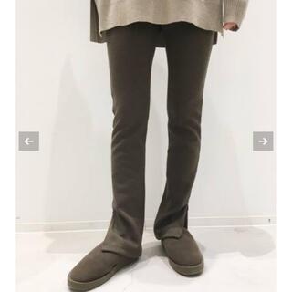 アパルトモンドゥーズィエムクラス(L'Appartement DEUXIEME CLASSE)のL'Appartement Wool Zip Leggings(レギンス/スパッツ)
