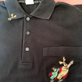 メイドインワールド(MADE IN WORLD)のポロシャツ ツーアンドワン MU sports 黒 M(ポロシャツ)