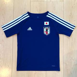 adidas - adidas サッカー 日本代表デザイン Tシャツ 練習着 140cm