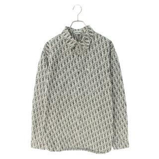 ディオール(Dior)のDIOR ディオール 20AW オブリーク総柄デニム長袖シャツ(シャツ)