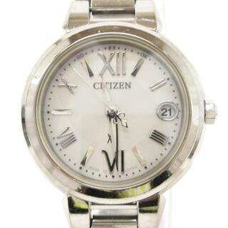 シチズン(CITIZEN)のシチズン クロスシー 腕時計 エコドライブ 電波 XCB38-9132 シルバー(腕時計)