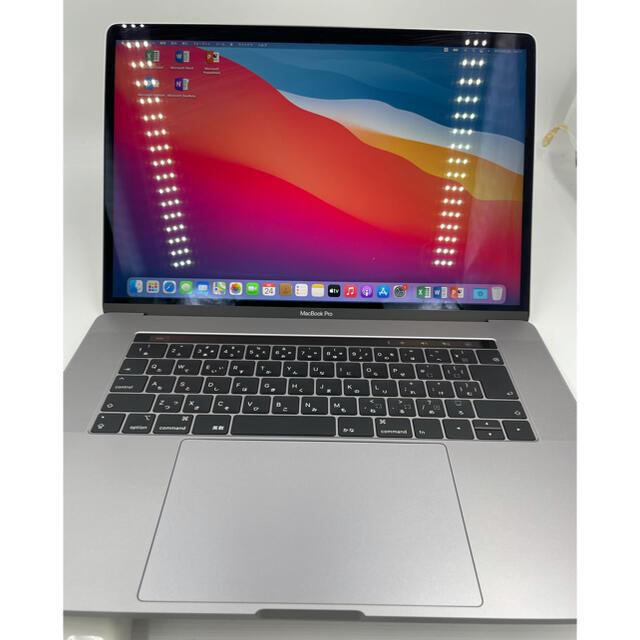 Mac (Apple)(マック)のMacBook pro15インチ 2019 A1990 美品 スマホ/家電/カメラのPC/タブレット(ノートPC)の商品写真