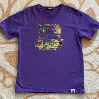 エクストララージ(XLARGE)の1ボタニカル柄 Tシャツ 紫(Tシャツ/カットソー)