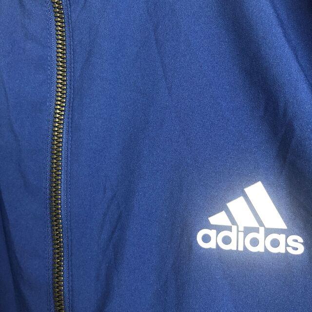 adidas(アディダス)のアディダス ジャージ 上下セット 内側メッシュ 青×黒 メンズのトップス(ジャージ)の商品写真