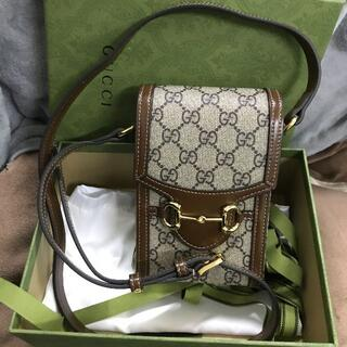 Gucci -  GUCCIコラボ スマホ ポシェット 斜め掛けバッグ