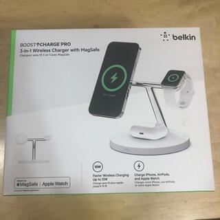 Apple - 新品Apple公式[Made for MagSafe]認証belkin急速充電器