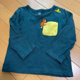 Design Tshirts Store graniph - おさるのジョージ 長袖