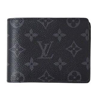 ルイヴィトン(LOUIS VUITTON)のヴィトン モノグラム エクリプス ポルトフォイユ ミュルティプル 二つ折り財布 (折り財布)
