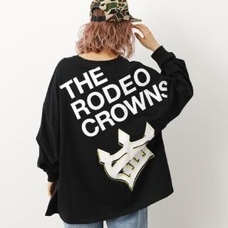 ロデオクラウンズワイドボウル(RODEO CROWNS WIDE BOWL)のロデオクラウンズ ワイドボウル PASS LOOSE L/S Tシャツ*ロンT(Tシャツ(長袖/七分))
