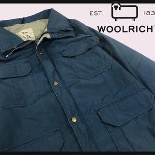 ウールリッチ(WOOLRICH)の【70年代白タグ ウールリッチハンティングジャケットメタルスナップ(ミリタリージャケット)