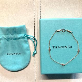 Tiffany & Co. - TIFFANY ティファニー バイザヤード ブレスレット K18RG