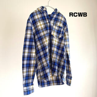 ロデオクラウンズワイドボウル(RODEO CROWNS WIDE BOWL)のRCWB★RODEO CROWNS WIDE BOWL コットンチェックシャツ(シャツ/ブラウス(長袖/七分))