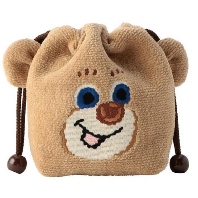 FEILER(フェイラー)のフェイラー 耳付き巾着 ポーチ ドアップテディ ボーイ ニコ レディースのファッション小物(ポーチ)の商品写真