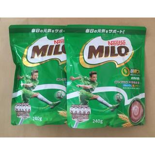 ネスレ(Nestle)のミロ 240g x 2袋 MILO 麦芽飲料(その他)