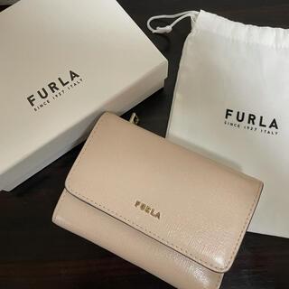 Furla - FURLA ベージュ コンパクトウォレット