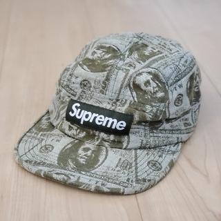 Supreme - Supreme 100 Dollar Bill Camp Cap