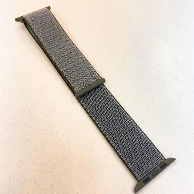 Apple Watch(アップルウォッチ)のスポーツループ アップル純正 Apple Watch 42mm 44mm 対応 メンズの時計(その他)の商品写真