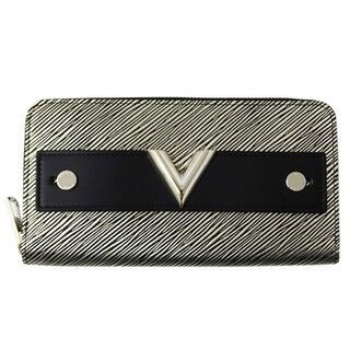 ルイヴィトン(LOUIS VUITTON)のヴィトン エピ プラティーヌ ジッピー ウォレット エッセンシャルV 長財布 (財布)