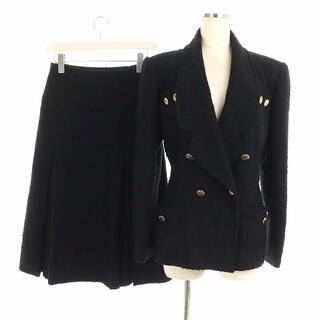 シャネル(CHANEL)のシャネル スーツ セットアップ ツイード テーラードジャケット スカート 36(スーツ)