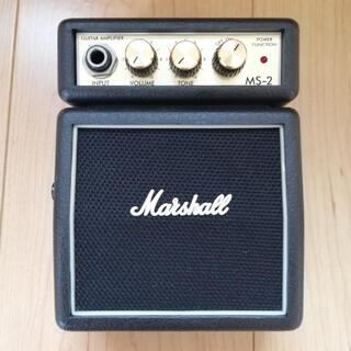 フランクリンアンドマーシャル(FRANKLIN&MARSHALL)のMARSHALL MS-2 ミニアンプ(ギターアンプ)