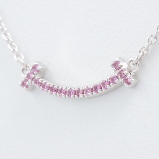 ティファニー(Tiffany & Co.)のティファニー Tスマイル マイクロ   WG ユニセックス ネックレス(ネックレス)
