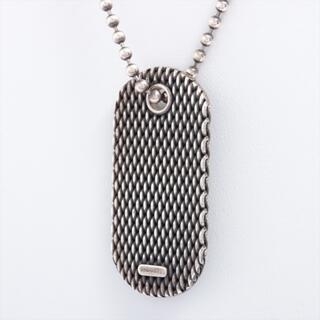ティファニー(Tiffany & Co.)のティファニー プレート 925  シルバー ユニセックス ネックレス(ネックレス)