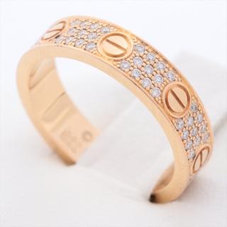 カルティエ(Cartier)のカルティエ ミニラブ パヴェ  46 PG ユニセックス リング・指輪(リング(指輪))