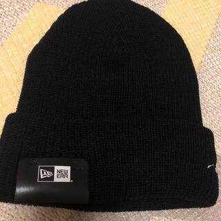ニューエラー(NEW ERA)のニューエラ ニット帽  ニットキャップ 男女兼用 ブラック(ニット帽/ビーニー)