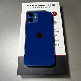 iPhone - 美品 iPhone 12 mini ブルー 128GB US版SIMフリー
