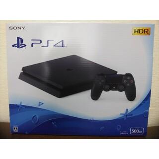 PlayStation4 - PlayStation4 ジェットブラック 500GB CUH-2200AB01