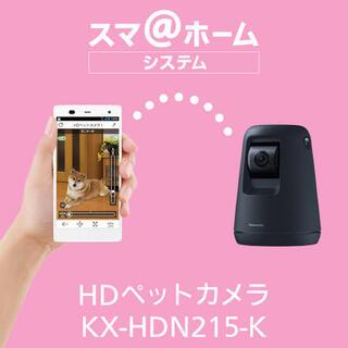 パナソニック(Panasonic)のPanasonic HDペットカメラ KX-HDN215-K(防犯カメラ)