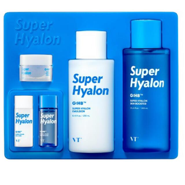 スーパーヒアルロンスキンケアセット vt cosmetics コスメ/美容のスキンケア/基礎化粧品(化粧水/ローション)の商品写真