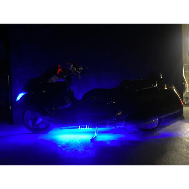 ヤマハ(ヤマハ)の不動の人気カラー‼︎【YAMAHA マグザム】スピーカー2発‼︎LEDレインボー 自動車/バイクのバイク(車体)の商品写真