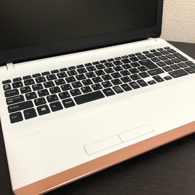 VAIO(バイオ)の美品♡SONY VAIOノートパソコン💻 スマホ/家電/カメラのPC/タブレット(ノートPC)の商品写真