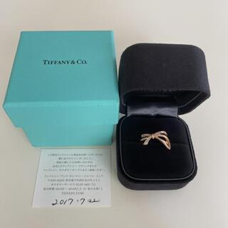 ティファニー(Tiffany & Co.)の本日のみ特別価格★美品 ティファニー ボウ リング(リング(指輪))