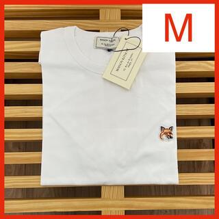 MAISON KITSUNE' - 【新品】メゾンキツネ Tシャツ ホワイト M MAISON KITSUNE