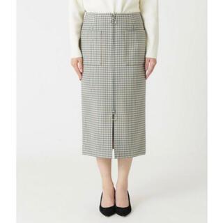 ノーブル(Noble)のNobleフープジップスカート(ひざ丈スカート)