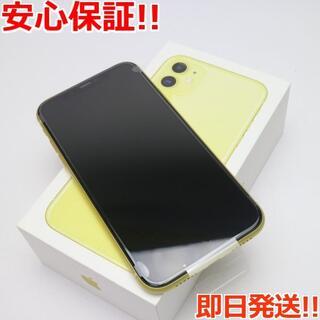 アイフォーン(iPhone)の新品 SIMフリー iPhone 11 64GB イエロー (スマートフォン本体)