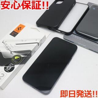 アイフォーン(iPhone)の新品同様 SIMフリー iPhone12 mini 128GB  ブラック(スマートフォン本体)