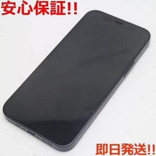 アイフォーン(iPhone)の美品 SIMフリー iPhone12 mini 64GB  ブラック(スマートフォン本体)