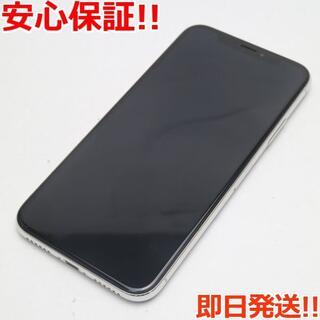 アイフォーン(iPhone)の新品同様 SIMフリー iPhoneX 256GB シルバー (スマートフォン本体)