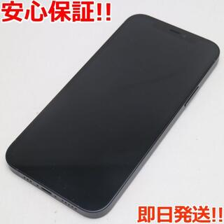 アイフォーン(iPhone)の新品同様 SIMフリー iPhone12 64GB  ブラック(スマートフォン本体)