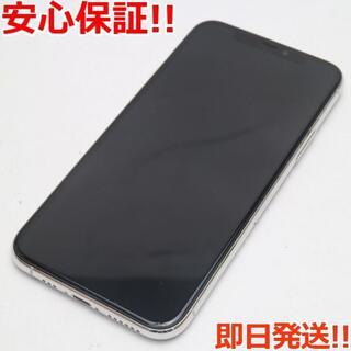 アイフォーン(iPhone)の美品 SIMフリー iPhone 11 Pro 256GB シルバー (スマートフォン本体)