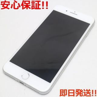 アイフォーン(iPhone)の超美品 SIMフリー iPhone8 PLUS 64GB シルバー (スマートフォン本体)