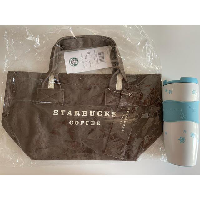 Starbucks Coffee(スターバックスコーヒー)のスターバックス キャンバスバッグコーヒーブラウン レディースのバッグ(トートバッグ)の商品写真