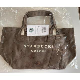 Starbucks Coffee - スターバックス キャンバスバッグコーヒーブラウン